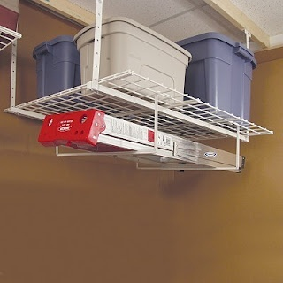 Overhead garage storage home depot woodworking projects for Garage planner home depot