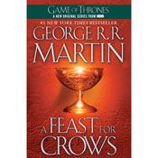 I just finished listening to A Feast for Crows by George R. R. Martin, narrated by Roy Dotrice on my #AudibleApp. https://www.audible.com/pd?asin=B006LPIVL8&source_code=AFAORWS04241590G4