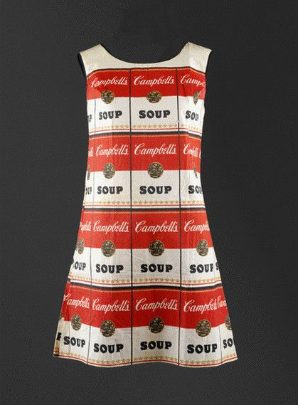 The Souper Dress by ANDY WARHOL - Peter Nahum At The Leicester Galleries
