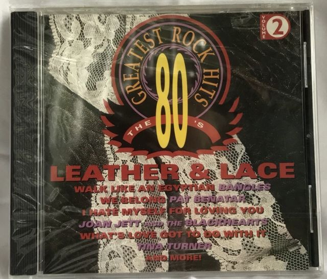 Greatest Rock Hits CD 80's Leather & Lace New Sealed 9 Songs Bangles Scandal + | eBay
