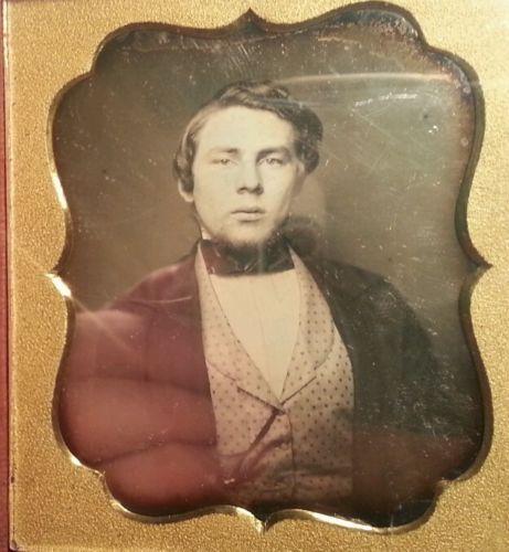 Antique American Blonde Man Worcester MA Daguerreotype Waldo Adams Photo | eBay