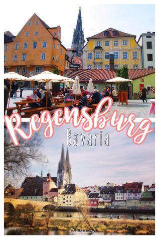 The historic town of Regensburg, Bavaria - California Globetrotter