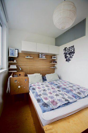 Vynachádzaví: Panelákový byt premenili mladí manželia na vzdušný priestor