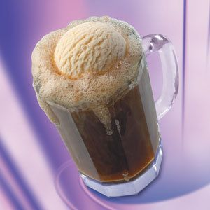 A very good spiked root beer float. rootbeer and vanilla schnapps and liquor 43 plus the ice cream
