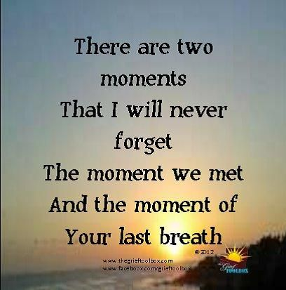 Two moments -................................................. A Poem | The Grief Toolbox