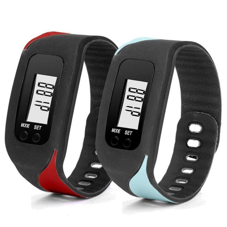 2017 New Pedometer step counter bluetooth Health Bracelet Smart Pedometers Fitness