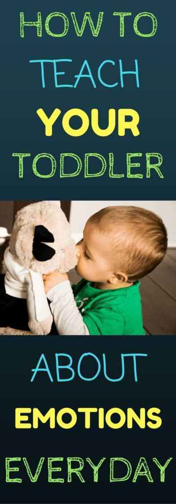 Learn easy ways to teach your toddler about emotions everyday. There are many benefits to introducing emotions to your child while they are young. Simple ways to teach your toddler within play and daily routines!
