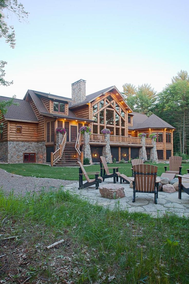 Wisconsin log homes national design build services for for National house builders