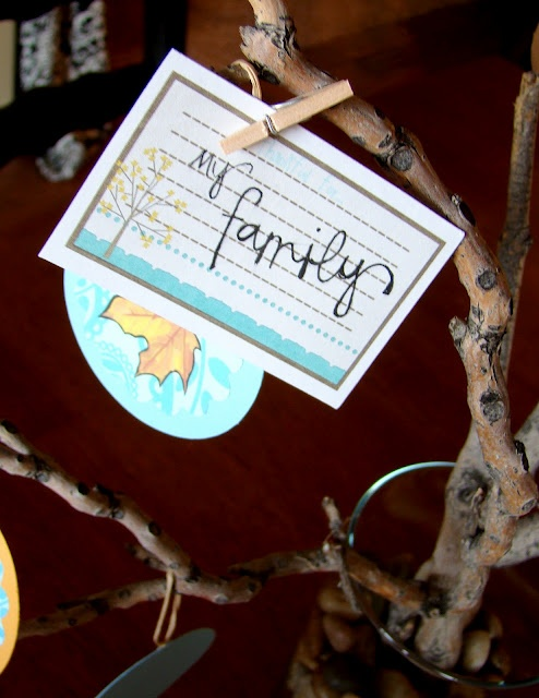 tHe fiCkLe piCkLe: ACtiVitY DaYs - Thankful Tree - Perfect for Thanksgiving