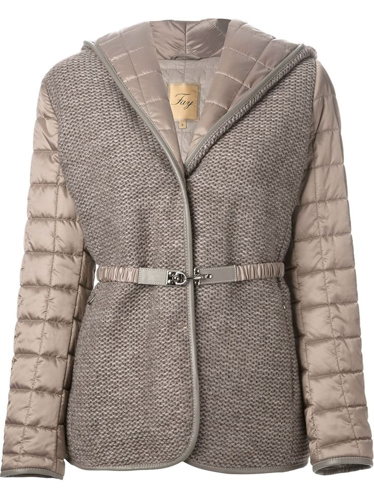 Fay Quilted Panelled Jacket - Eraldo - Farfetch.com