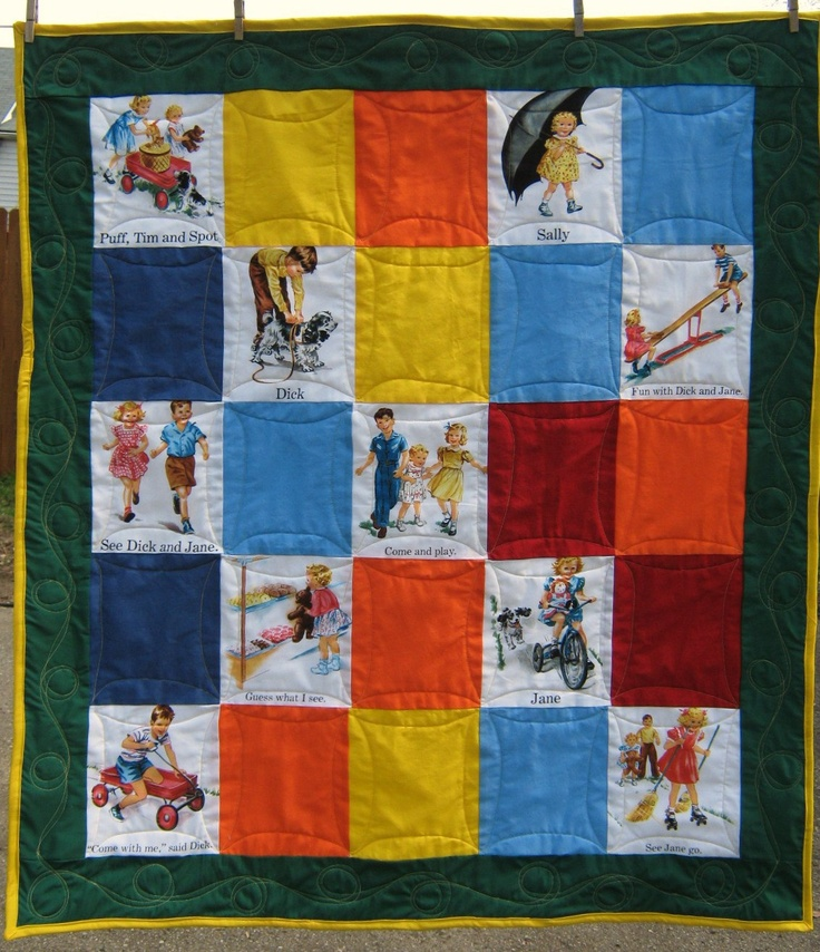 Dick and Jane Quilt Pattern eBay