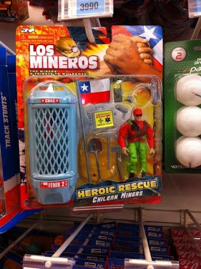 Los Mineros Chilenos TOY XD