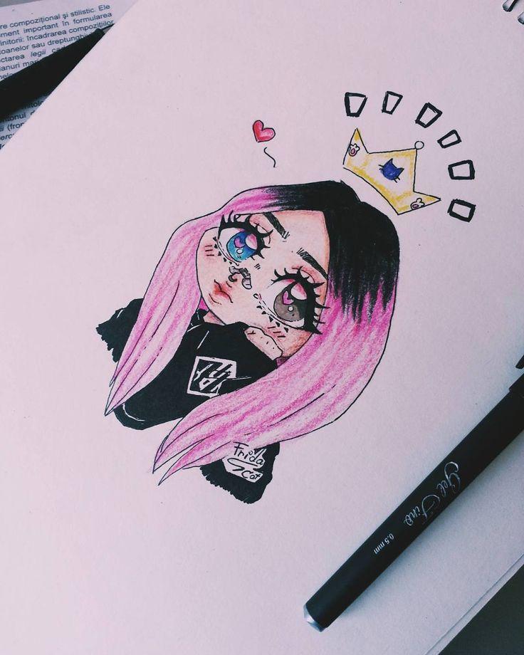 "20 aprecieri, 2 comentarii - Frida_Joker (@frids.frids.srl) pe Instagram: ""Milkgore ~❤ inspiration"""