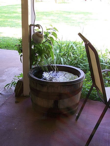 How to Make a Whiskey Barrel Fountain