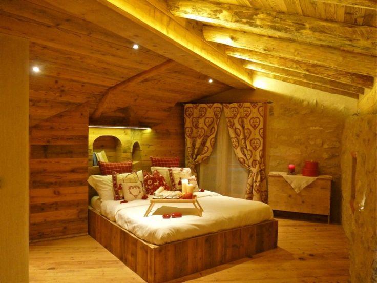 La romantica stanza da letto