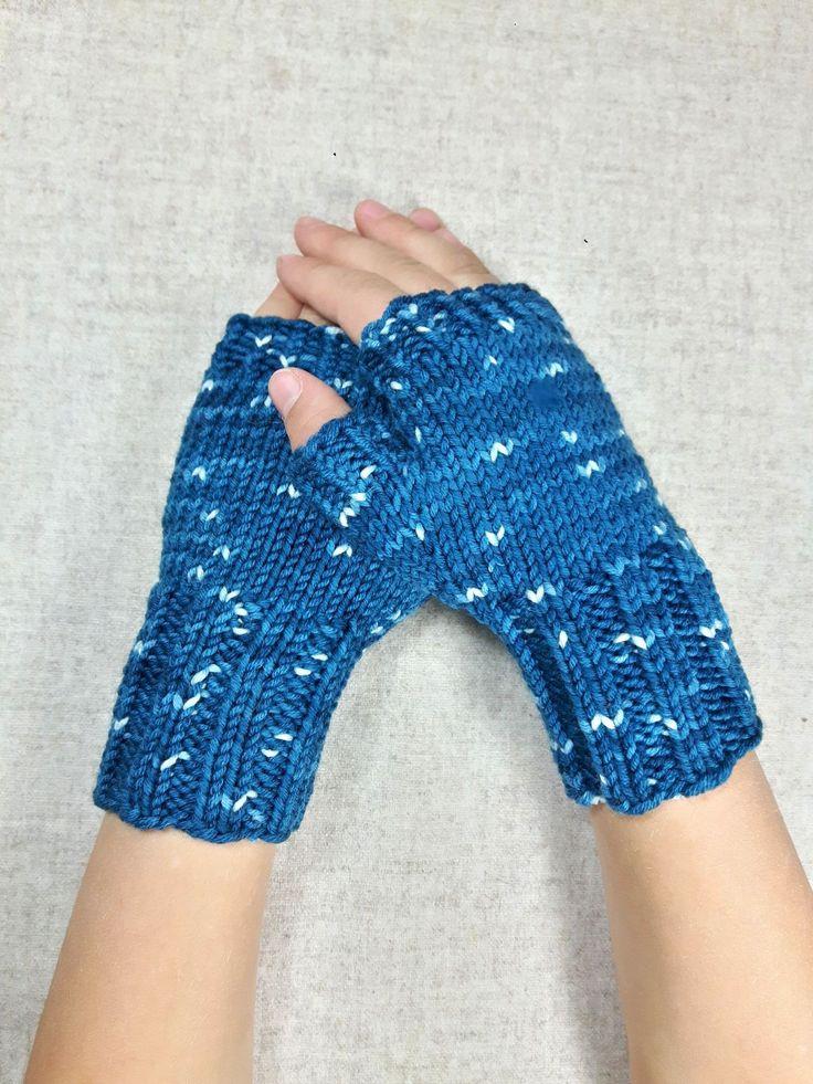 Fingerlose Handschuhe Für Kinder 4 6 Jahre, Reine Wolle, Armstulpen Warm  Und Weich