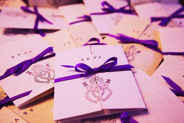 Or add a Luckenbooth to your wedding invitations.   26 Impossibly Beautiful Scottish Wedding Ideas