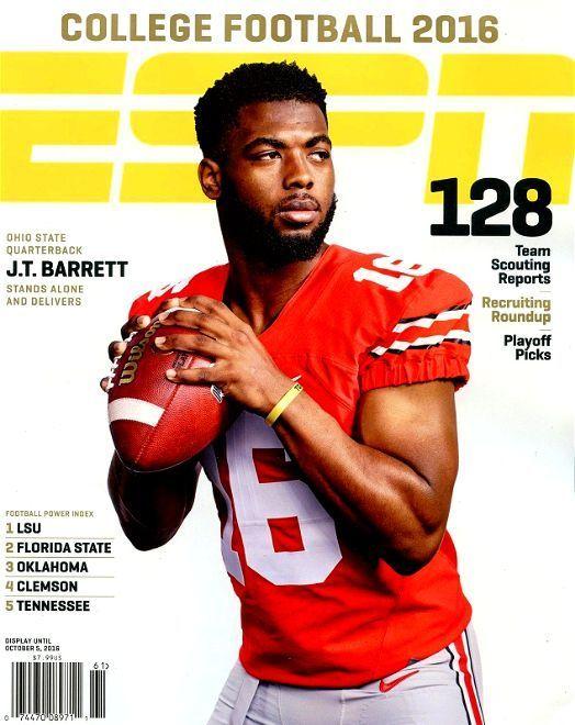 ESPN College Football Preview 2016 Ohio State QB J.T. BARRETT + Recruiting - NEW