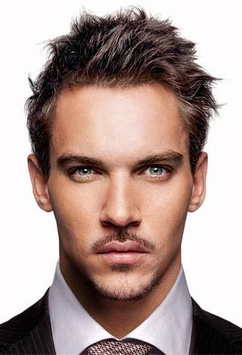 Add Long Black Hair and Leather Jonathan Rhys Meyers = Jean-Claude