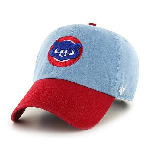 Chicago Cubs Adjustable Cooperstown Two Tone Clean-Up Hat  ChicagoCubs  Cubs   EverybodyIN  FlyTheW bd3e652a0524