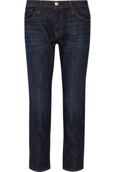 Current/Elliott The Fling mid-rise boyfriend jeans | THE OUTNET Colour: Homestead