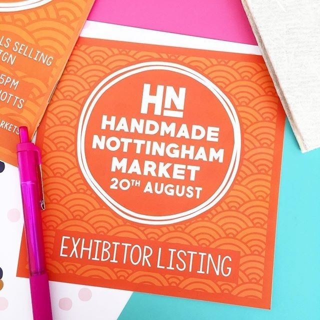 regram @hnmarkets Working on the Exhibitor Leaflets today you'll never kick yourself for forgetting that designer maker you've seen at one of our markets ever again!  . . #hnmarket #handmadenottingham #handmadenotts #hnmarkets #craftfair #craftfairnottingham #craftmarket #handmademarket #maltcross #itsinnotts #nottingham #notts #creativenottingham #creativenotts #shophandmade #buylocal #buyhandmade #whatsoninnotts #innottingham #handmadenottinghammarket #exhibitors #design #hn