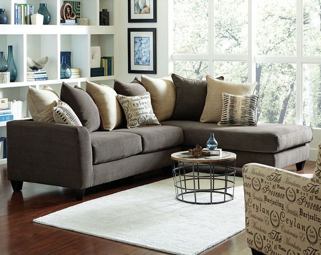 Quot Corey Jute Quot Sectional With Images Sectional Sofas