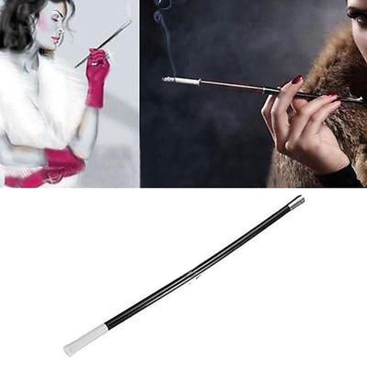 1920s Long Cigarette Holder Women Gangster Flapper Fancy SMOKE HOLDER Ladies #Unbranded