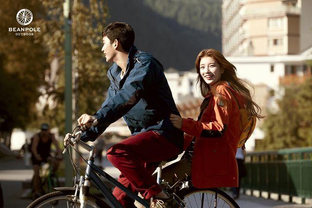 Kim Soo-hyun & Suzy for Bean Pole Outdoor Fall 2013 Campaign