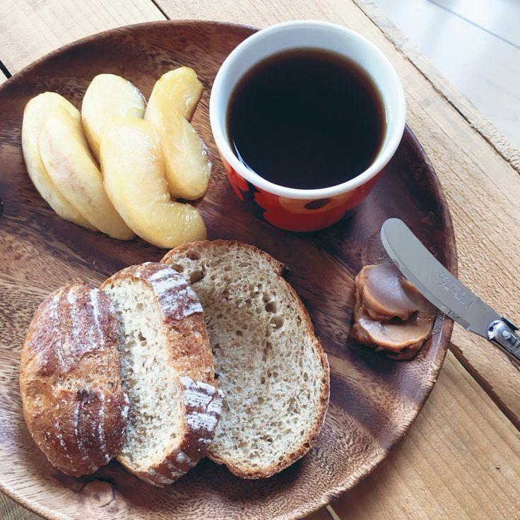 カラメルりんごと栗ペースト