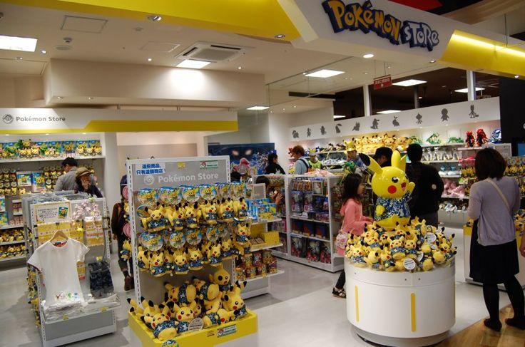 HAPINAHA featuring the Pokémon Store