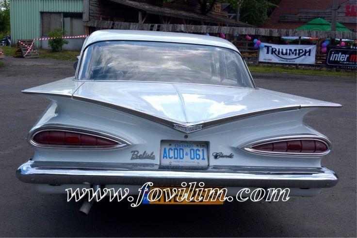 Fovilim | Zabytkowy Chevrolet Impala Bel Air 1959r | Warszawa