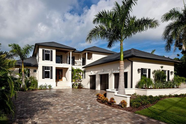 59 best images about exterior makeover on pinterest for Modern tropical house exterior