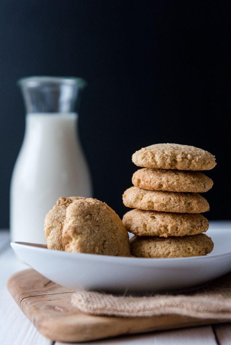 Erdnuss-Kokos Kekse   Eat-Vegan