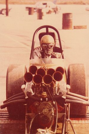 Dragster...horn intakes