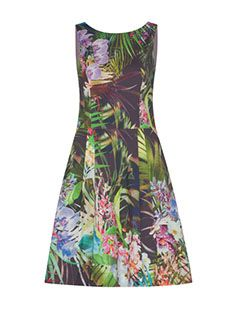 #veronikamaine #tropicalvacation #inspiration #tropical #aline #dress #summer13
