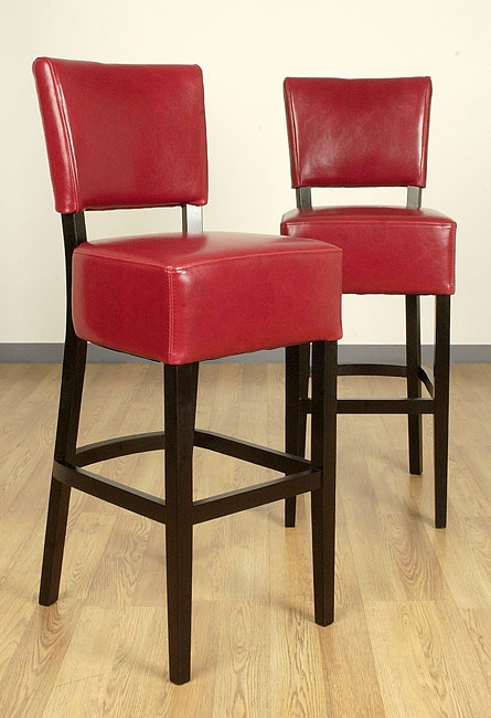 Johnny S Bar Stool Choice Continental Pinterest Red