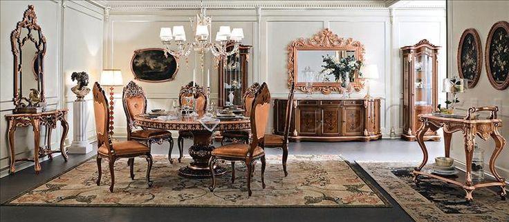 Композиция столовые комнаты Comp 113, производитель MODENESE, коллекция BELLA VITA – элитная мебель из Италии в салоне «ARREDO»