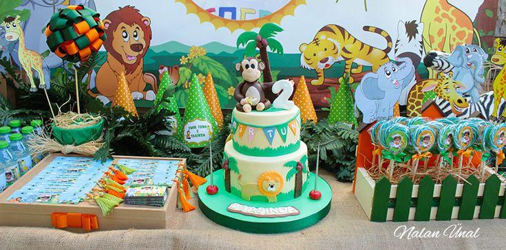 Safari konseptli doğum günü partisi için nasıl bir organizasyon yapılmalı? Hangi parti süsleri hazırlanır? Temaya uygun hediyelikler ve detaylı bilgi.