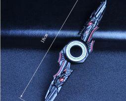 Fidget spinner - Protistresová hračka - Black Crossfire