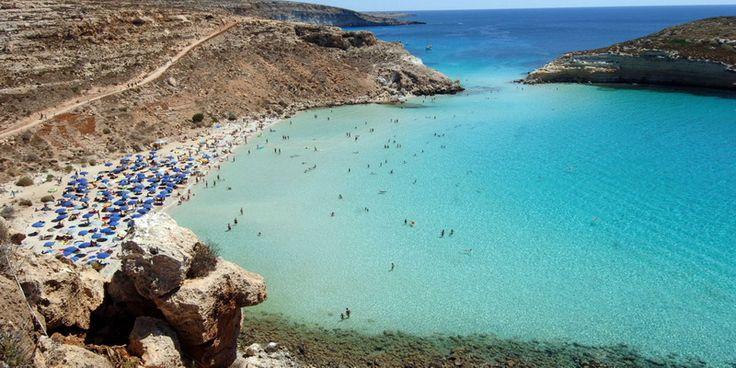 Plaja Iepurilor, Sicilia
