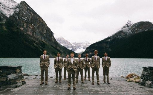 Wynne & Ben | Lake Louise, Alberta via Rocky Mountain Bride
