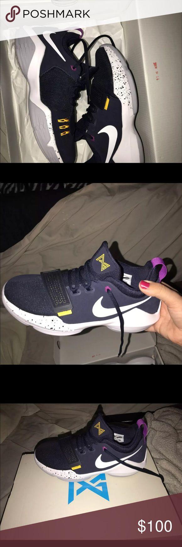 Paul George sneakers Worn once Paul George sneakers size 5.5 Nike Shoes Sneakers