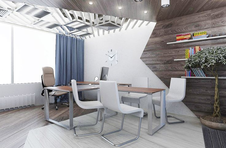 Современный дизайн офиса - кабинет директора