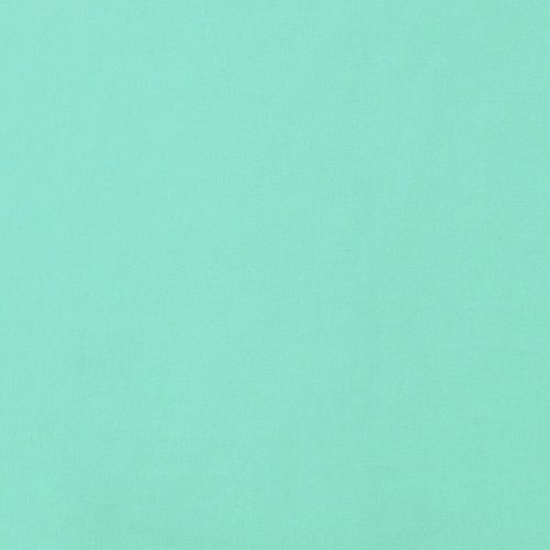 Mint Green Solid Cotton Spandex Knit Fabric - Super top quality medium weight cotton spandex knit in a lovely minty aqua green color.  The perfect fabric staple!  True medium weight with a soft hand, good 4 way stretch, and nice recovery.    ::  $7.00