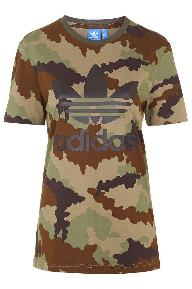 camiseta adidas hombres militar