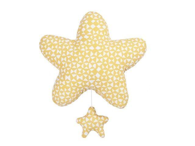 De Trixie Muziekdoos in de vorm van een ster laat je kindje zachtjes in slaap vallen op de deuntjes van 'Baby Mine' van de Disney-film Dombo. Ieder kindje droomt er toch van om in slaap te vallen met een vrolijk slaapliedje van Disney?