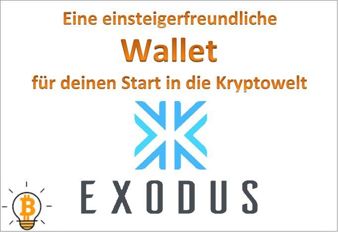 Exodus ist eine kostenlose Wallet zur Aufbewahrung verschiedener Kryptowährungen. Durch die ansprechende Benutzeroberfläche lässt sie sich einfach bedienen.
