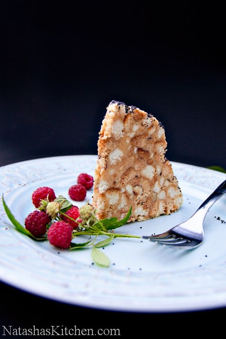 Muraveinik, or Anthill Cake. This cake is the bomb, like a delicious cookie, coffee cake, scone, and biscotti in one, and poppy seeds give it a nice toasted flavor.