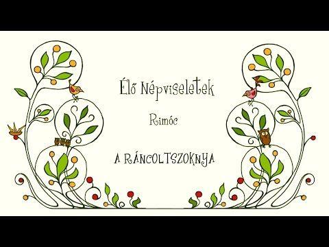 Élő népviselet Rimóc A Ráncoltszoknya - YouTube